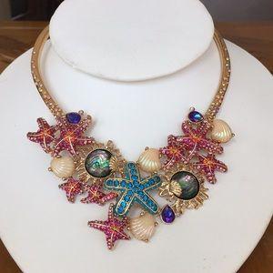 Betsey Johnson sea life necklace!